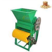 300 ~ 400 kg / h de cacahuete desgranadora de maní bombardeos máquinas de la casa pequeña contracción de aceite de maní pelado máquina máquina de la piel rota 220V 1PC