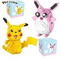 TOY CHEST Brand Model Toys Elf Ball Baby Pikachu Wigglytuff ...