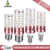 주도 옥수수 전구 8W 12W 16W 185-265V E27 E14 1000-1999lm 높은 밝은 촛대지도는 옥수수 램프에서 세 가지 색상 구근