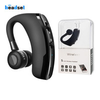 V9 V8 Bluetooth Headset Handsfree Wireless Bluetooth Earphon...