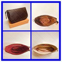 M40712 N41207 مصغرة pochette accessoires مصمم المرأة مخلب مساء حقيبة يد صغيرة الفاخرة الكتف الهاتف محفظة cles الحقيبة حقيبة M58009