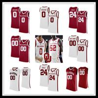 Пользовательские 2021 Оклахома рано Баскетбол колледж Джерси Остин по-прежнему Alondes Williams Kristian Doolittle Brady Manek Young Griffin Hield 4XL