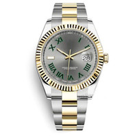Automatyczny Watch Ruch Datejust Sapphire Crystal Top V3 Zamiatanie 2813 Zegarek Składany Klamra Zegarki Ze Stali Nierdzewnej Oryginalne Zapięcie