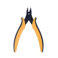 가죽 가방 니퍼 멀티 Functiona 도구 펜치 클리퍼 사이드 자르는 세척 펜치를 절단 미니 전기 와이어 케이블 커터