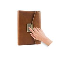 دفتر بصمة قفل نمط جديد الموضة الاتجاه مجلة دفاتر سرية الأعلى للهدايا ومجزية