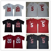 NCAA Stanford Cardinals Jersey 20 Bryce Amor Cristiano McCaffrey 5 7 John Elway 12 Andrew Luck jerseys Lejos Blanco Rojo Negro S-3XL
