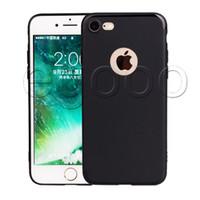 Soft Slim Silicone Capa Para iPhone 12 Mini 11 Pro Max XR XS MAX 8 7 6 6S PLUS Capa TPU Matte Phone Case Shell com tampa de poeira