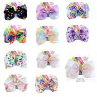 11styles Jojo Baby Girl Hair Accessories Hair Clips rainbow ...
