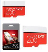 2020 새로운 도착 U3 EVO Plus 256GB 128GB 32GB 64GB 클래스 10 TF 플래시 메모리 카드 무료 SD 어댑터 블리스 터 패키지 Dropshipping