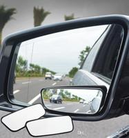 1 paire de miroirs de stores aveugles grand angle à 360 degrés de rétroviseurs convexes réglables rétroviseurs pour voitures (détail)