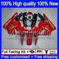 Pour le corps KAWASAKI ZX900 900 CC 9 R 94 97 1994 1995 1996 1997 221MY.14 ZX 900 ZX 9R 900cc ZX9R ZX9R 94 95 96 97 brillant carénages rouge