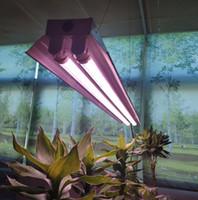 4피트 T8 HO는 온실 수경 실내 식물 모종 채식과 꽃에 대한 램프 램프를 조명 성장 72W 전체 스펙트럼 통합 LED 성장