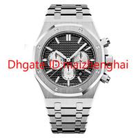 2019 Vendita calda orologio VK di alta qualità VK cronografia del quarzo movimento orologi tutti gli acciaio sport 3tm impermeabile orologio da polso Montr