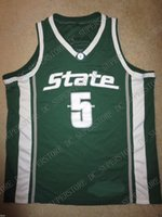 New Arrival. Cheap custom Cassius Winston  5 Michigan State Spartans Hoops  Jersey Stitched Customize any number name MEN ... 140cbf9f7