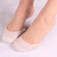 Silicone Gel Toe Soft Ballet Pointe Dança Sapatos Pads Cuidados de Pé Protetor de Alto Salto Alto Almofadas Gel Ortopédico Massageador