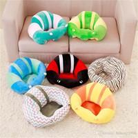 الإبداعية للأطفال النوم وسادة قابلة للطي سرير السلامة لينة مقعد السيارة وسادة أريكة المحمولة القطيفة كرسي الطفل تعلم الاطفال النوم وسادة 40mb2