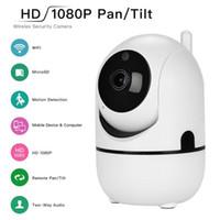 1080 P Nube Cámara IP Inalámbrica Seguimiento Auto Inteligente De Humanos Mini Wifi Cámara de Seguridad para el Hogar Vigilancia CCTV Red