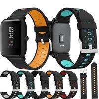 Xiaomi Huami Amazfit Bip PACE Lite에 대 한 패션 실리콘 시계 스트랩 밴드 20mm 손목 밴드 watchband에 대 한 청소년 교체 스포츠 팔찌