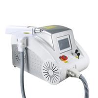 Nuovo 2000MJ 532nm a 1064nm 1320 nm Tatuaggio Pigmenti rimozione Q Interruttore ND YAG laser macchina di bellezza Rimuovere sopracciglio portatile tatuaggi bambola Black-faced