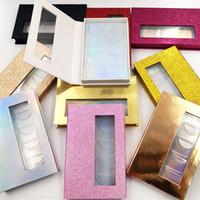 Пустые коробки Lashes 5Pairs Ресницы Упаковка книги оптовые конфеты цвет Пусто Ресницы книга