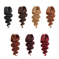 Body Wave Closure With Baby Hair 4x4 Lace Closure For Body W...