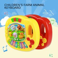 인기있는 악기 장난감 아기 키즈 동물 농장 피아노 발달 음악 완구 어린이를위한