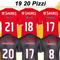 2019 2020 PIZZI SEFEROVIC Mens Soccer Jerseys New SALVIO Hom...