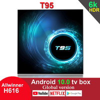 T95 Android 10. 0 TV Box Allwinner H616 4GB 32GB 2. 4G Wifi Yo...