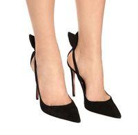 Beige Faux Wildleder Stiletto Absätze Frauen Pumps Spitz-Spitze Knöchelband Frauen Schuhe Sexy High Heels Braut Hochzeitsschuhe