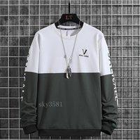 Neue Designer Pullover Für Männer Frühling Mens Hoodie dünne Tuch Fabrik c02sweatshirt Gefälschte zwei Stück Flut Luxus Druck mark schnelle shippi