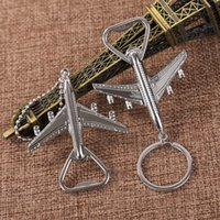 الطائرات النمذجة مفتاح إبزيم ريترو ستايل مفاتيح سلسلة شخصية الفتاحات زجاجة زفاف تفضل الهبات هدية الإبداعية 1 6lt l1