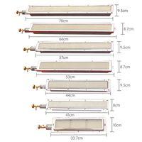 أعلى جودة لوحة السيراميك الموقد مع الأضرار (فوهة) الموقد الأشعة تحت الحمراء للغاز لشركة BBQ، كباب، مشوي الخ
