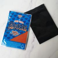Nouvelle arrivée de UP Joke! 3.5G ZOURZ Sacs à New York Zourz de Rolling Smell fort Proof Emballage Mylar Sac 420 Herb Dry Fleurs