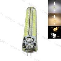 LED Ampuller SMD5730 G4 7 W DC12V 120LED Sıcak Beyaz Mısır Ampul Silikon Lambaları Kristal Avize Ev Işık DHL