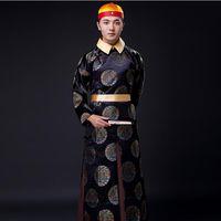 الصينية دعوى الملابس التقليدية تانغ تحدد القديمة اسرة تشينغ الإمبراطور الأمير مرحلة الأداء TV اللعب ممثل ارتداء حلي