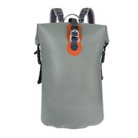 Çin doğrudan fabrika özelleştirilmiş açık hava sporları için uygun bir logo su geçirmez hava geçirmez sırt çantası kuru çanta yüksek dereceli TPU kuru tüp sağlamak