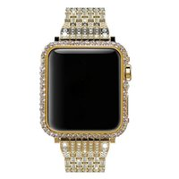 for Apple Watch rhinestone crystal diamond case bezel band r...