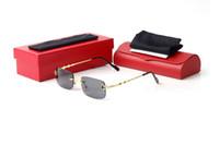 mens Plain Óculos esporte nova moda Eyeware Limpar Espelhos Goggles metal ultraleve Moda búfalo chifre Oculus Lunette Óculos