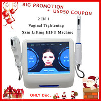 2 in 1 Hifu vaginal tightening machine with 1. 5mm 3. 0mm 4. 5m...
