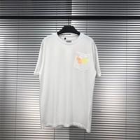 Bunte Gradient Letters GALERIE DEPT T-Shirt Männer-Frauen-Qualitäts T-Stück beiläufige GALERIE DEPT-T-Shirt