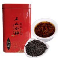 200g Toplam Ağırlık Çin Organik Siyah Çay Lapsang Souchong Üstün Oolong Kırmızı Çay Yeni Çay Yeşil Gıda Hediye Paketi Sıcak satış Pişmiş