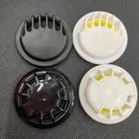 Masque de protection respiratoire 4styles Valve Masque Accessoires Entretien ménager One-Way Masque d'échappement Vannes en noir et blanc de respiration Vannes GGA3542-12