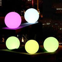 Impermeabile Piscina Led Piscina Lampada da palla galleggiante RGB Indoor Outdoor Casa Giardino KTV Bar Festa di nozze Festa decorativa illuminazione vacanze