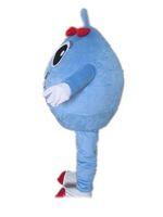 2019 Discount-Fabrikverkauf Ventilation blaue Kugel Maskottchen cosutme mit großen Augen für Erwachsene zu tragen