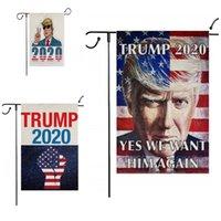 Giardino Banner 2020 Trump Elezione Bandiera Terylene Bandiere Oblong Conspicuous siamo campagna del partito della casa Decorare vendita calda 5 5mx D2