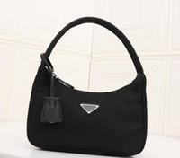 Designer Nylon Hobo Bag Classic Luxury Accessories Fabric PR...