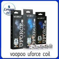 VOOPOO UFORCE Bobina U2 0.4ohm U4 0.23ohm U6 U8 D4 P2 0.15ohm Bobine di ricambio per atomizzatore UFORCE