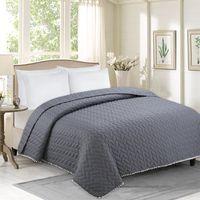 1 STÜCKE liebevoll elegante mode POM-POM cubrecama decke bettdecke quilt sommer duvet quilt für raum hauptdekoration