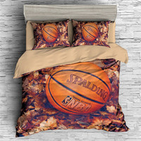 New Arriving 3D Printed Basketball Bedding Suit Quilt Cover ...