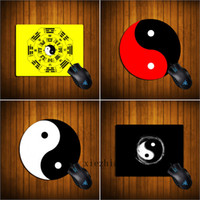 Chinese Style Tai Ji Mouse Pad Creativity Eight- Diagram Tact...